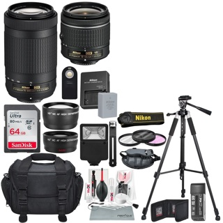1 NEW NIKKOR Lenses & Accessories Bundle! BIG LOT! FREE SHIPPING