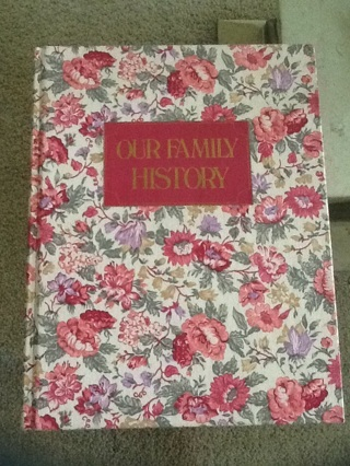 """Like NEW """"Our Family History"""" Book"""