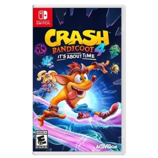 Crash Bandicoot 4: It's About Time (Nintendo Switch) BRAND NEW