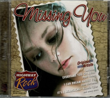 Highway Rock: Missing You - CD by Various Artists