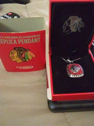 2013 Chicago Blackhawks Replica Pendant and Figure