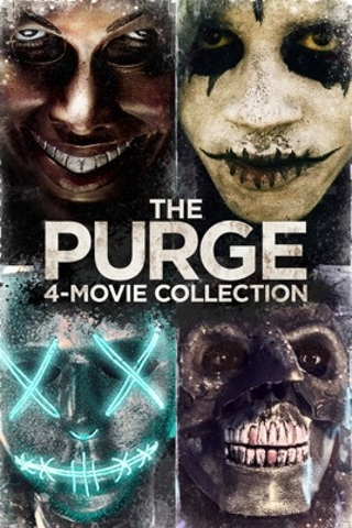 The Purge 4-Movie Collection Digital HD Copy (MA, iTunes, Vudu)