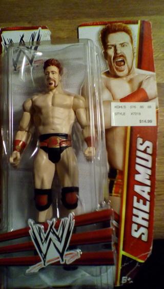 WWE CHAMPION SHAEMUS