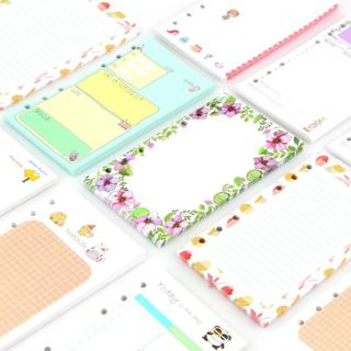 40 Sheet/set Coil A6a5 Colorful Refills Spiral Notebook Inner Pages 6 Holes Loose Leaf Diario Bind