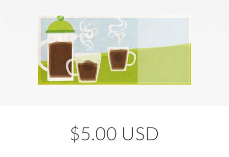 Starbucks $5