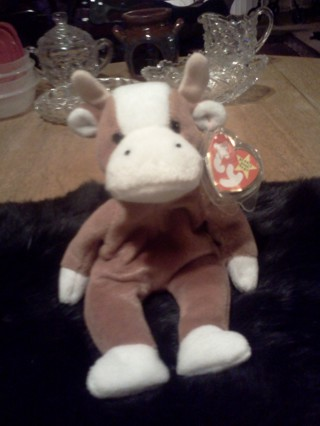 FREE  RARE TY BEANIE BABIES BESSIE THE COW AND HER FRIEND ZIGGY THE ZEBRA!!! bac8dbe6d2d3