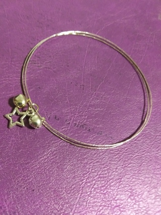 """New! Celestial Tibetan silver star bracelet 8"""""""