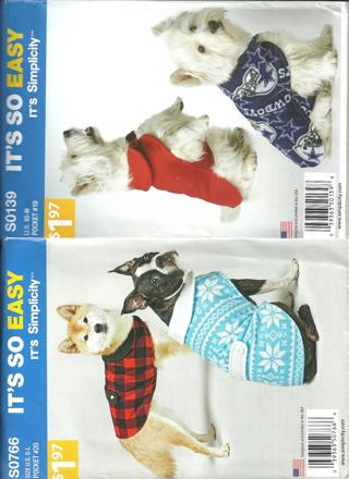 Dog vest sewing pattern