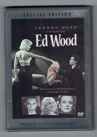 Ed Wood DVD *LIKE NEW* A Tim Burton Film Johnny Depp