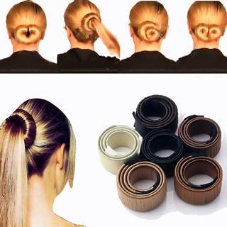 Women Hair Accessories 2016 New Bun Hair Band Hair Twist Styling Braid Tools