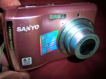 Sanyo VPC-5880 8.1 MP Digital Camera