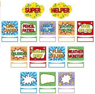Classroom Jobs Bulletin Board Set Super Helper Bulletin Board Decoration