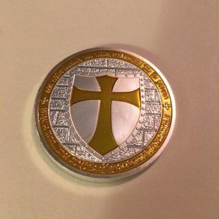 Medallion or coin or token ?