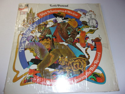 Let's Pretend – Dick Whittington And His Cat / The White Cat – LP