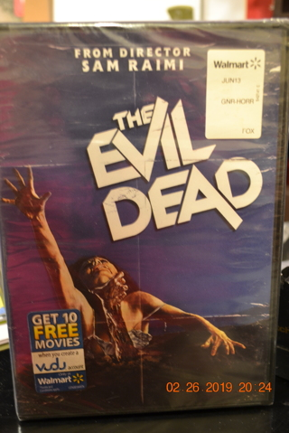 ****NIP THE EVIL DEAD DVD***FREE SHIPPING