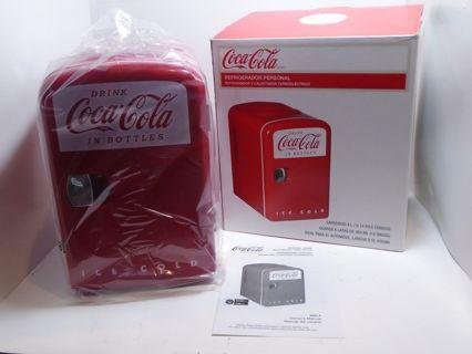 Coca-Cola Retro Style Mini Fridge