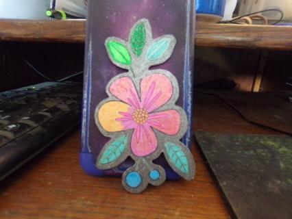 FLOWER REFRIGERATOR MAGNET
