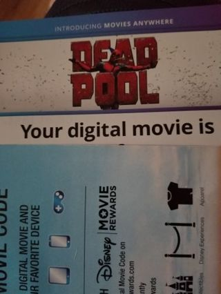 Deadpool 4k digital copy