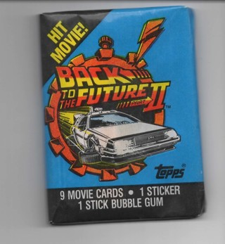 1989 Topps Back to the Future 2 Unopened Pack