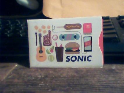 Sonic $5.00 gift card