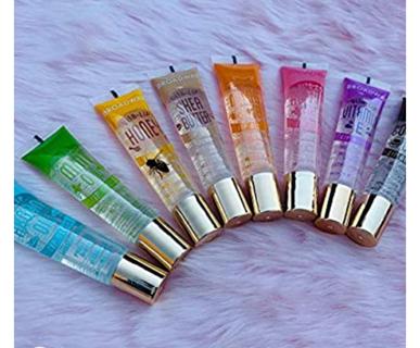 40% OFF! 8 Pack ALL Flavor Broadway Vita-Lip Gloss Oil by Kiss Cosmetics