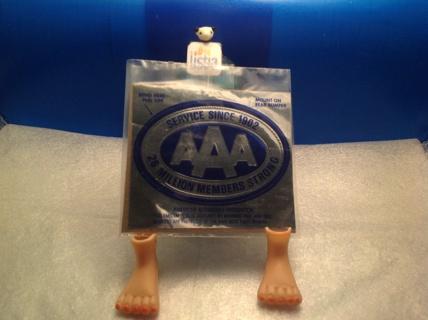 AAA silver Sticker.