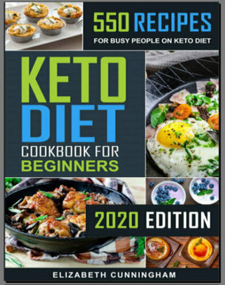 Keto Diet Cookbook For Beginners – 550 Recipes For Busy (((PDF)))
