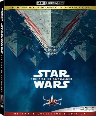 Star Wars : The Rise of Skywalker (4K Digital UHD Download Code Only) *Daisy Ridley* *Adam Driver*