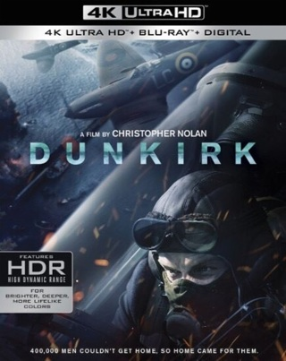 DUNKIRK DIGITAL HD REDEMPTION CODE FOR ULTRAVIOLET
