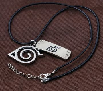 Naruto Anime Hokage Hidden Village Necklace #012