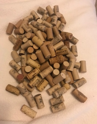 Mixed Lot of Corks for Craft Projects