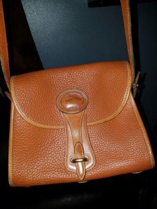 Vintage Dooney & Bourke All Weather Leather handbag