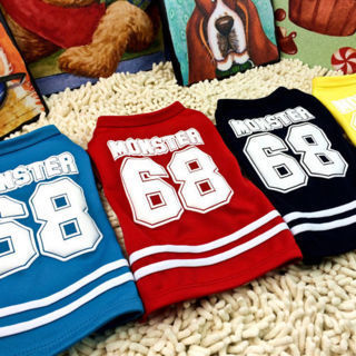 [GIN FOR FREE SHIPPING] Summer Pet Puppy Small Dog Cat Clothes Cotton Vest T-Shirt Apparel