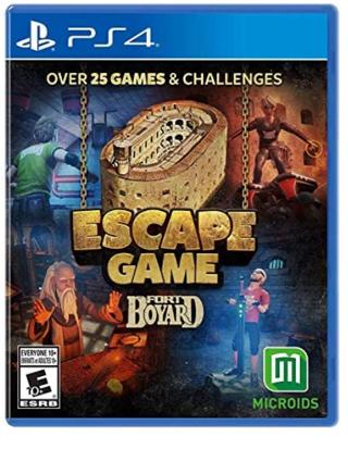 Escape Game: Fort Boyard (PS4) - PlayStation 4