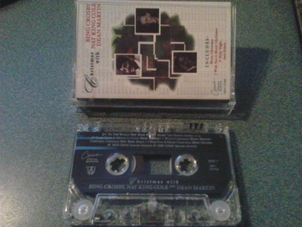 Christmas with Bing Crosby Cassette tape