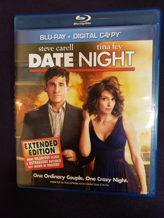 Date Night (Extended Edition) Blu-ray Disc DVD PG-13 Movie Comedy