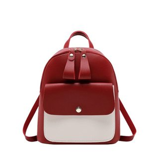 Women's backpack  Simple fashion Multi-function Mini bag for girls