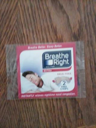 NIP BREATHE RIGHT NASAL STRIP SAMPLES (2)