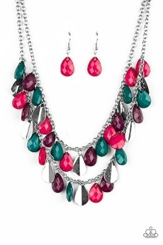 NEW Paparazzi Accessories - Life of the Fiesta - Multi Necklace