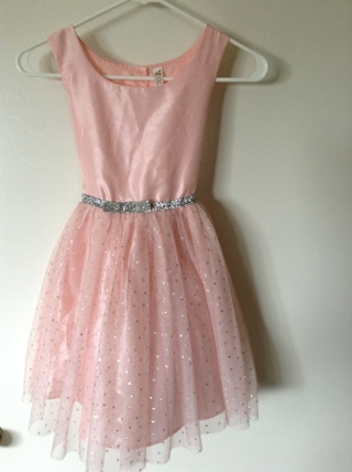 beautiful pink girl dress size 7 / 8 by cherokee