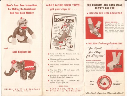 Free: SOCK MONKEY PATTERN - SOCK ELEPHANT PATTERN - Sewing - Listia ...