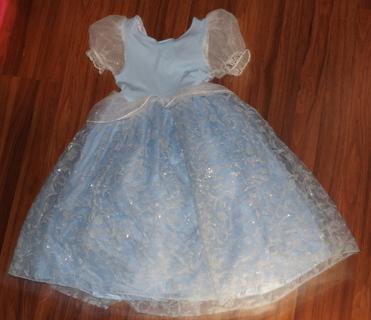 princess cinderella costume for girl / kids size 6T disney store