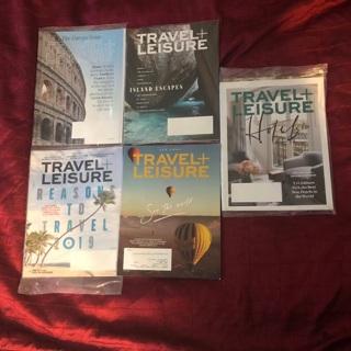 Travel + Leisure 5 Magazine Lot