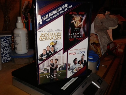 DVD 4 Film Favorites - White House Collection Wag the Dog, Dave