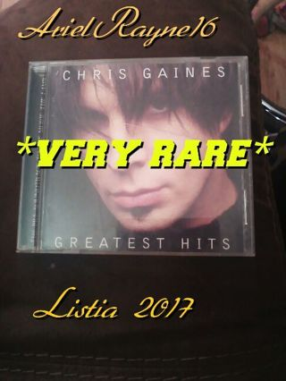 *VERY RARE* *USED* Garth Brooks in the life of Chris Gaines CD.