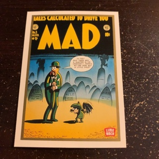 Mad magazine card