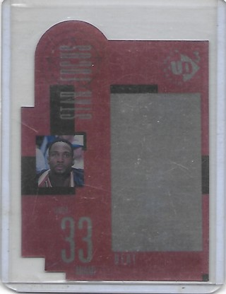 Alonzo Mourning 1997-98 UD3 Star Focus #39