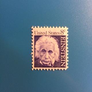Albert Einstein Stamp ~ U.S. Postage 8 Cent Stamp ~ MNH!