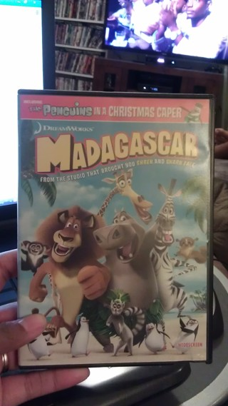 DVD-Madagascar In excellent condition and FREE Shipping