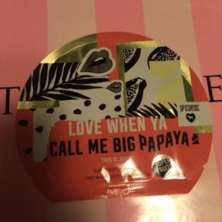 a428b3e21a186 Free: Victoria's Secret Pink Face Mask CALL ME PAPAYA - Skincare ...
